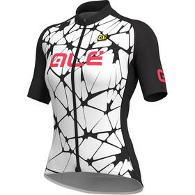 Alé Cycling Solid Cracle - Maillot manches courtes Femme - blanc/noir